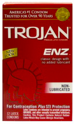 Trojan-ENZ-non-Lubricated